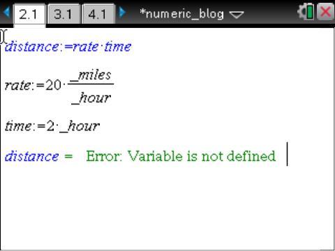 CAS vs. Numeric: TI-Nspire Summer Learning (3/6)