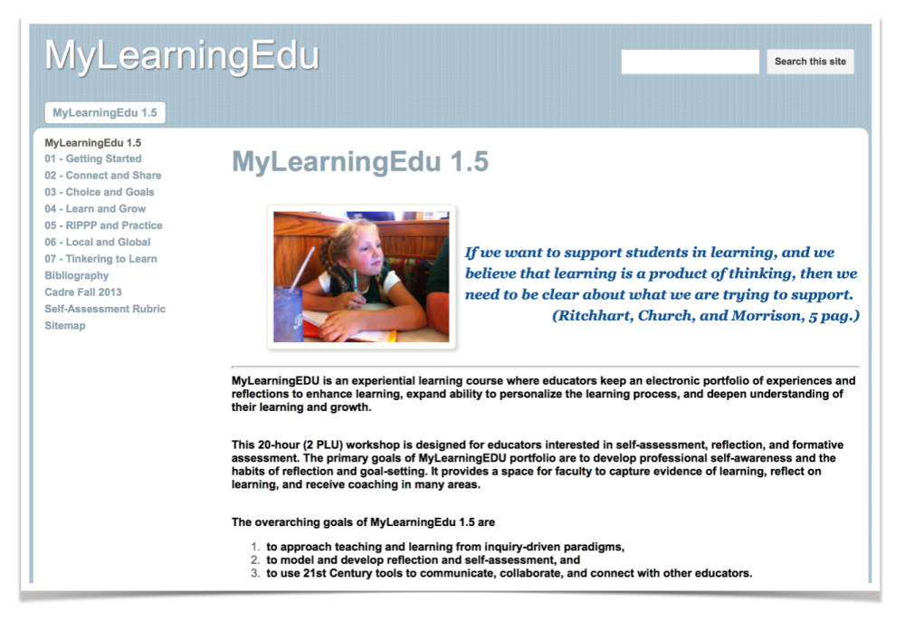 MyLearningEdu 1.5 (week 2) - Learning Together