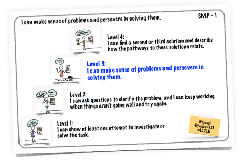 SMP-1: Make Sense of Problems and Persevere #LL2LU