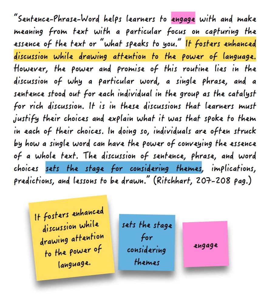 Summer Reading using VTR: Sentence-Phrase-Word (2/2)