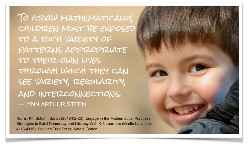PD planning: #Mathematizing Read Alouds   Experiments in Learning by