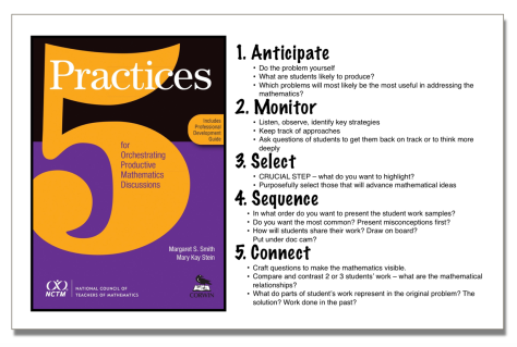 5 Practices for Orchestrating Productive Mathematics