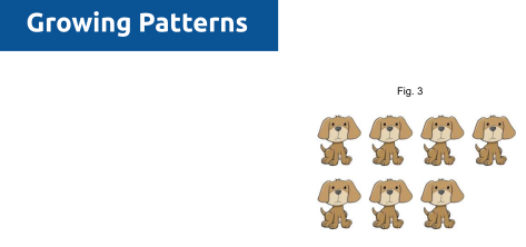 Fawn Nguyen's Visual Patterns, pattern #10 puppies